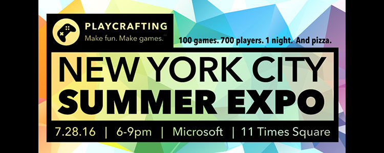 Detour! Playcrafting NYC Summer Expo